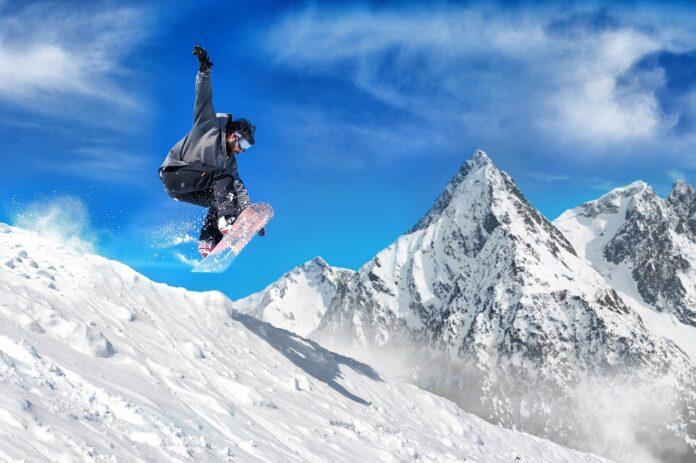Snowboard na lodowcu? To możliwe!