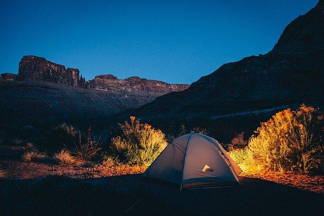 Gdzie nie można rozbijać namiotu?